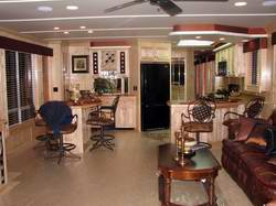 Awesome Luxury Interior Houseboat Designs Part 20