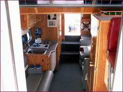a steury houseboat are great trailerable houseboats for exploring rh all about houseboats com