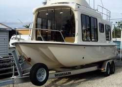 Trailerable Houseboat Designs
