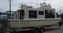 Trailerable Houseboat