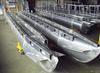 Sample of aluminum houseboat pontoons