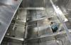 An inside look at a houseboats aluminum hull