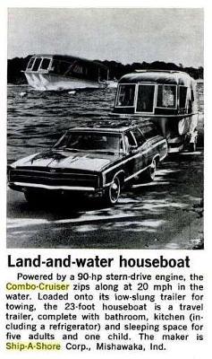 """Trailerable Combo Cruiser Houseboats - 22' Combo-Cruiser--""""Bubbles"""""""