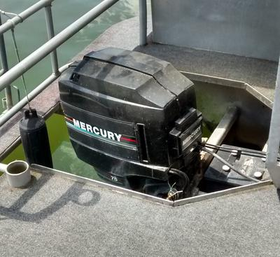 Any trim, tilt, or trailer system for my houseboat outboard?