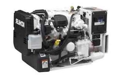 A typical marine generator in houseboats