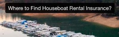 Houseboat Rental Insurance for a small Business on House Boats