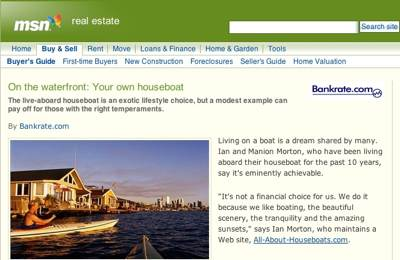 MSN.com-on-the-waterfront-your-own-houseboat