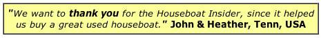 Testimonial Houseboat Magazine