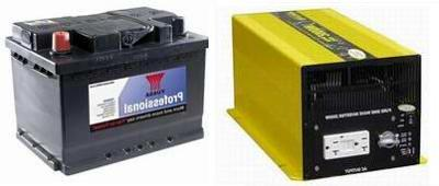 Houseboat Batteries & AC/DC Power Inverters