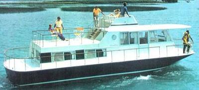 Chris Craft Aquahome houseboat owners manual