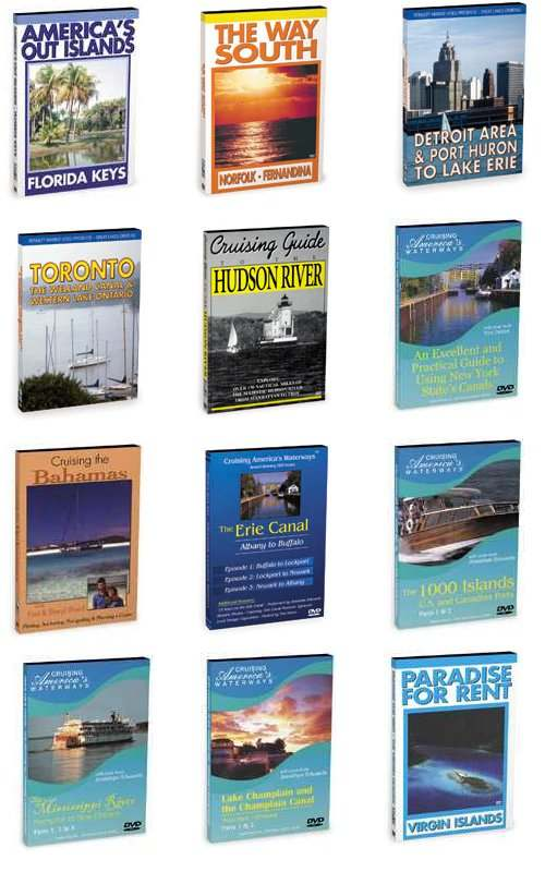 Boating Cruising Destinations Houseboat Travel Areas Video DVD