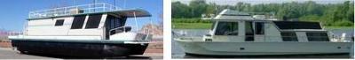 Is Boatel Houseboat, a pontoon bluewater islander coastal cruiser yacht?