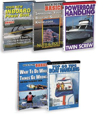 Houseboat Handling Boating Skills Video DVD