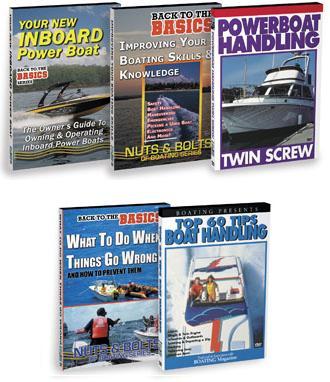 Houseboat Handling Boating Skills Video DVD