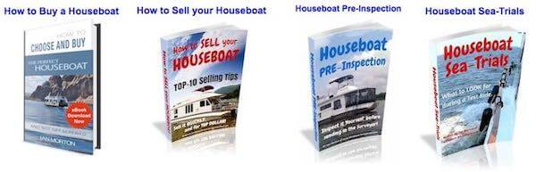 Houseboat Books with Tips, Guides, and Info on House Boats