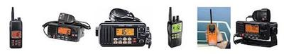So many different VHF radios on houseboats