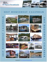 free Houseboat Calendar from Magazine