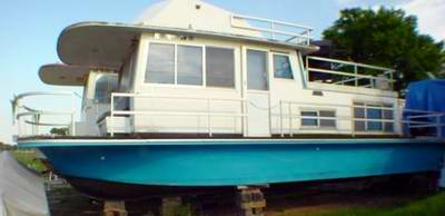 Older Gibson Houseboats are a very Popular Model.