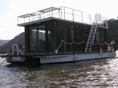 Homemade Pontoon House Boats