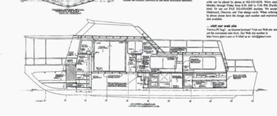 Houseboat Plans - cabin design I will be using with modification made
