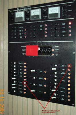 Houseboat Electrical Distribution - circuit breaker panels