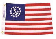 Marine nautical flags for houseboats