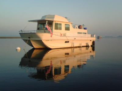True Love - our 1981 Holiday Mansion houseboat