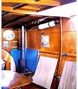 Houseboat Heating - fireplaces or wood stoves on house boats?