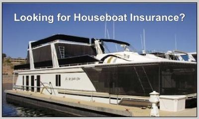 Houseboat Insurance - insure your house boat here