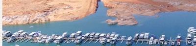 Houseboat Marinas - the Antelope Point Marina, Lake Powell