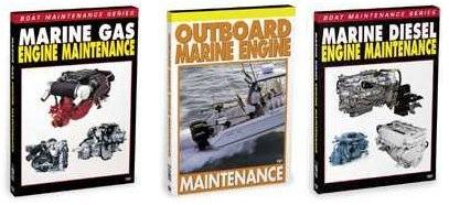 Houseboat Marine Engine Outboard Maintenance Repair Video DVD