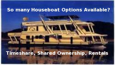 Houseboat Timeshares - Shared Ownership - Holiday Rentals