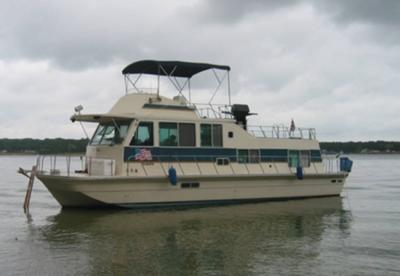 Any Burnscraft houseboat brochures or sales manuals available?