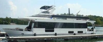 A sample of a wide body Monticello houseboat