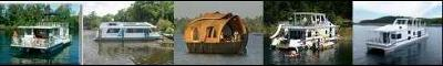 Houseboats For Sale - tips for new house boat buyers.