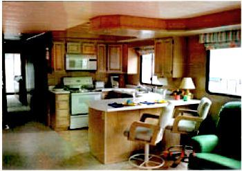 How to remodel, rebuild, or refurbish houseboat interiors?