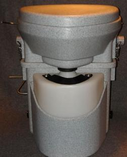 A common Marine Composting Toilet