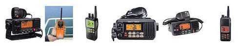 Houseboat VHF Radios