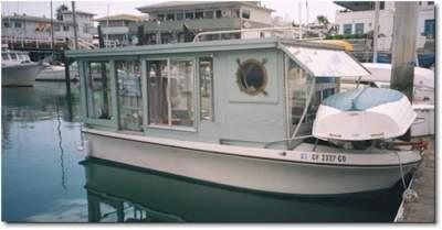 Our trailerable houseboat studio in Santa Barbara CA