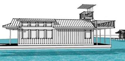 New Floating Cottage Homes The Harbor Retreat And