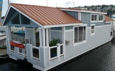 Floating Home Cottages - affordable waterfront living