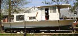A typical Silver Queen Houseboat.