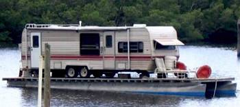Redneck Houseboats - there's always a possibility.