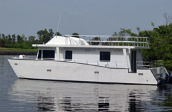 The final product... My perfect houseboat size and features!