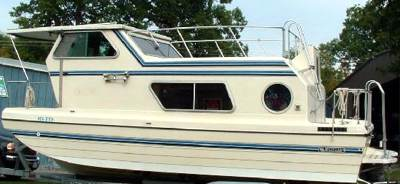 Sold the trailerable Steury houseboat, and want another one.