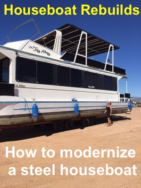 How to rebuild a steel houseboat