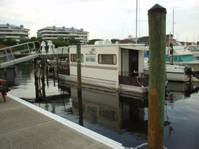 Summer Houseboats - just sitting at the dock