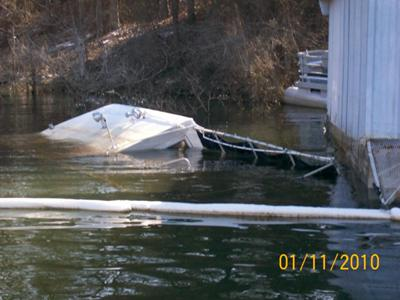 Sunken Houseboat - tips not to sink your house boat