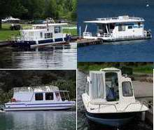 Homebuilt Houseboat