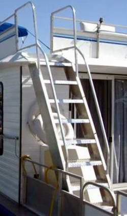 Ladder Steps Houseboat Designs